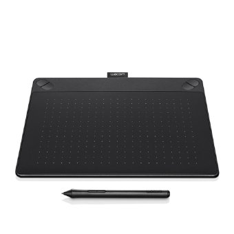 WACOM Intuos Comic Creative Pen and Touch Tablet CTH-490- ( BLACK ) (Small)
