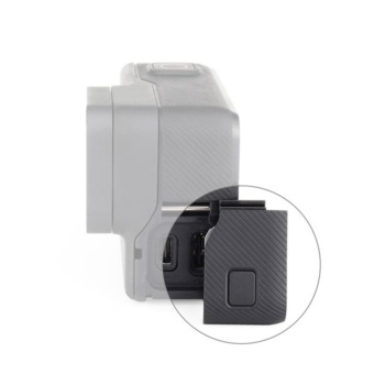 Waterproof Black Replacement Side Door USB-C HDMI Door Repair Part for GoPro Hero 5 - intl