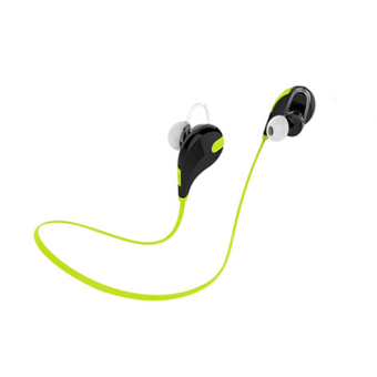Wireless Bluetooth Headphone In-Ear Earphone Headset (Green) - Intl