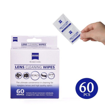 Zeiss Pre-Moistened Lens Screen Optical Camera Cleaning Cloth Wipes60Pcs In Box
