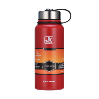 1.5L Stainless steel Vacuum Thermos Outdoor Portable Cup WaterBottle(Red)