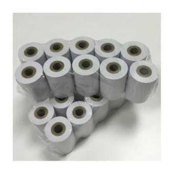 20 Rolls of Nets / Credit Card Machine Thermal Paper Roll 57 X 40 X 12mm