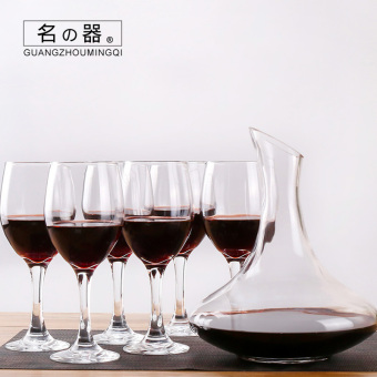 2000ml home lead-free glass decanters is red wine cup