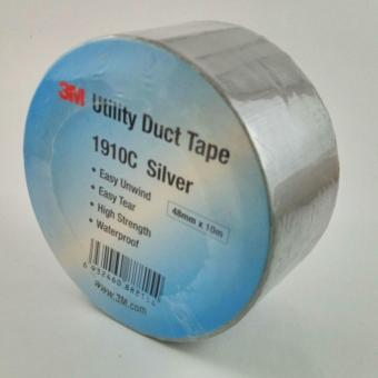 3M 1910C Duct Tape 48mm x 10m - Silver (5 Rolls)