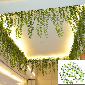 8.2 Feet Artificial Hanging Ivy Leaf Leaves Plants Vine FakeFoliage Party