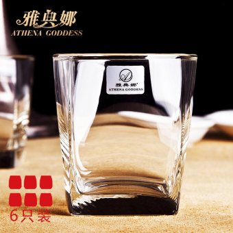 Athena square whiskey | lead-free suit foreign wine cup