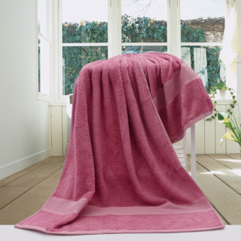 Bamboo Fiber square towel New style fresh large bath towel