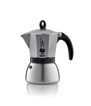 Bialetti Moka Induction Antharcite - 6 Cups