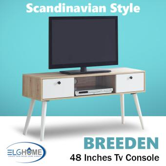 Breeden Scandinavian 48 inches TV Console (FREE Install & Delivery)
