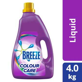 Breeze Colour Care Liquid Detergent 4kg