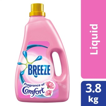 Breeze Fragrance of Comfort Liquid Detergent 3.8kg