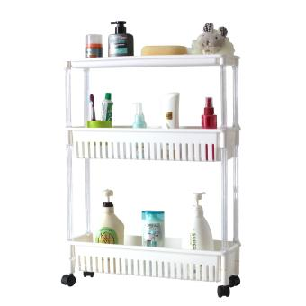 Citylife 3 Tier Kitchen Wagon w Wheels (Wide)