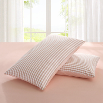 Cotton envelope-style adult thick cotton pillow cover pillowcase