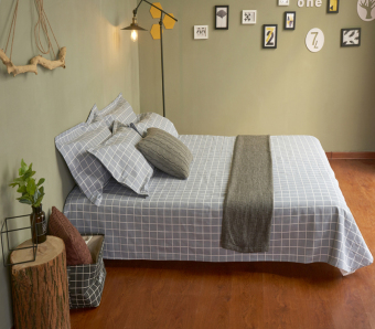 Cotton one-piece single or double sheets Old coarse bedsheet