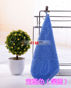 Cotton Small Square Towel Children Wash Kindergarten Cleaning Hand Towel Cotton With Hook Handkerchief 20 Strip Batch