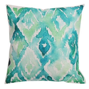 Creative Lines Pattern Cotton Pillow Cover