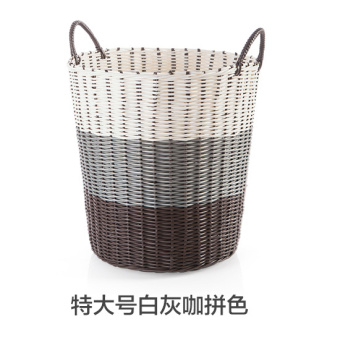 Dirty clothes laundry basket storage basket