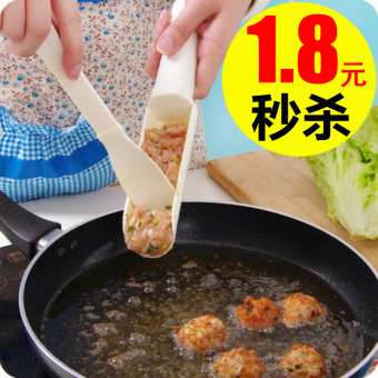 DIY kitchen fish meatballs for making mold