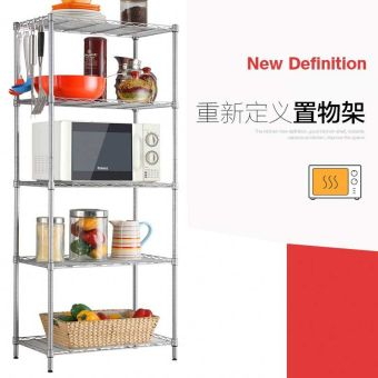 Dormitory wardrobe living room multi-kitchen shelf storage rack