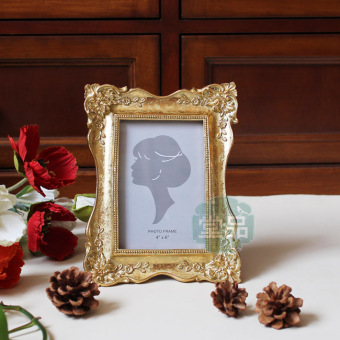 Exquisite European-style to do the old a gold creative 6-inch wedding photo frame