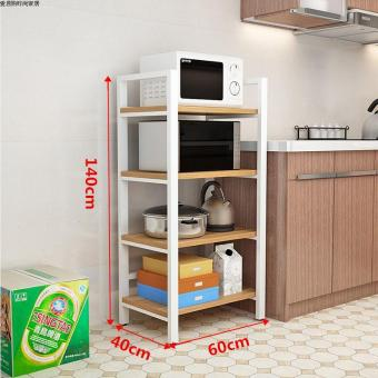 Floor multi-home storage rack kitchen shelf