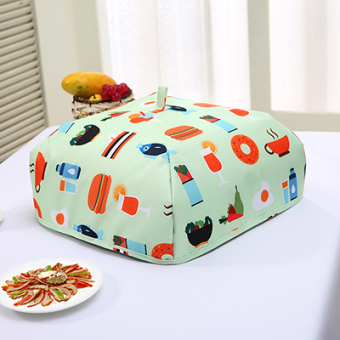 Food insulation cover aluminum foil Table Dust Cover cover food cover