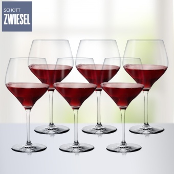 Germany imported Schott shengwei Sha a lead-free crystal glassgoblet of red wine glass home 6 Branch