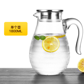 Glass home large capacity HIGH-TEMPERATURE resistant cup cold water pot