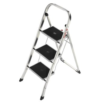 Hailo K30 Aluminium Folding Ladder 3 Steps