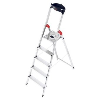Hailo L60 Aluminium Safety Ladder 5 Steps