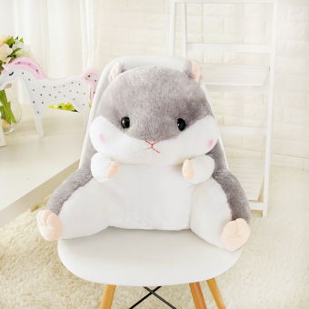 Hamster cute cushion office lumbar chair back cushion lumbar pillowwaist bedside pillow car seat pillow