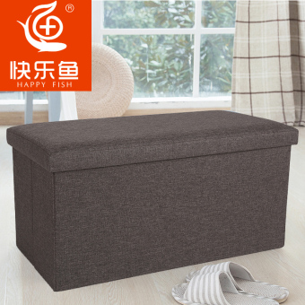 Happy Fish long sofa square changing his shoes stool storage stool