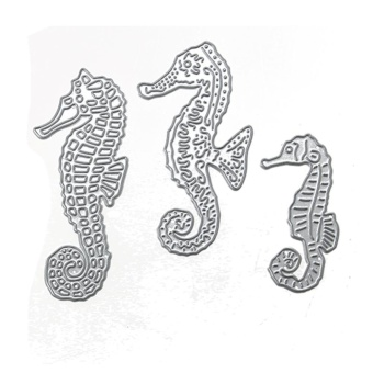 Hippocampus DIY Handmade Craft Stencils Decor Tool Set Cutting Die - intl