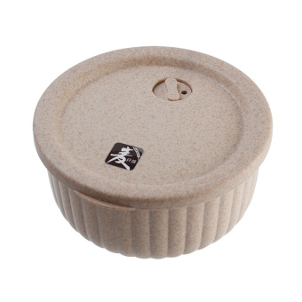 Japanese-style Wheat Rice Husk tableware storage container