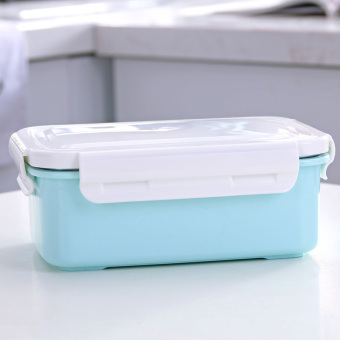 Jianyue student with lid canteen lunch boxes container