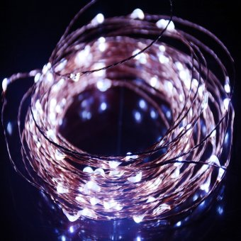 JinGle 40LED Copper Wire Battery Powered Waterproof String Fairy Light (White)