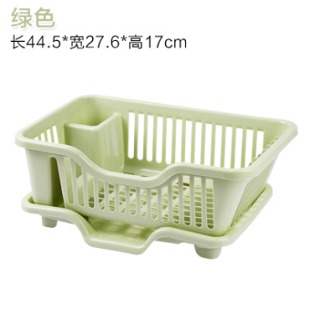 Kitchen Cupboard plastic Nordic drain water dish rack mounted chopsticks storage box Put dishes tableware storage box shelving rack