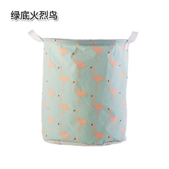Large foldable waterproof Toy storage basket laundry basket