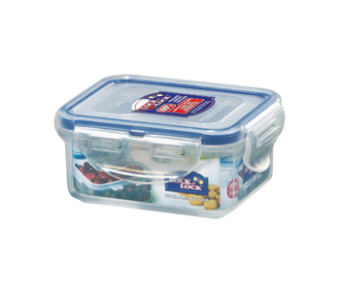LOCK & LOCK Classic Airtight Rectangle Food Container 180ml (HPL-805)
