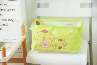 Melody cute New style desktop storage box organizing box