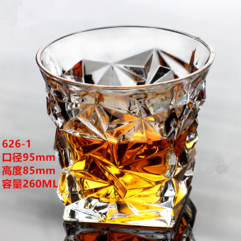 Multi-lead-free crystal glass beer mug whiskey cup