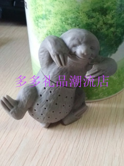 New style sloth silicone tea is creative animal models silicone tea strainers creative tea filter tea is Cool tea is