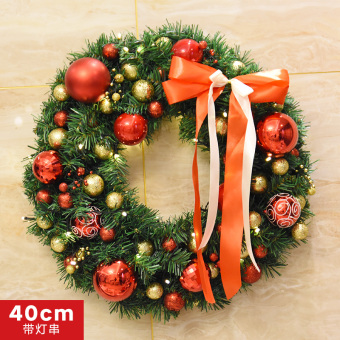 Nuo 40 cm/50 cm/60cm pearl ball wreath Christmas wreath
