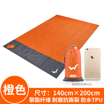 Outdoor waterproof moisture-proof picnic mat Wear-Resistant mat moisture-proof cloth camping tent pad barbecue picnic outdoor equipment