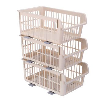 Plastic kitchen vegetable basket storage basket