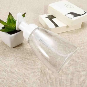 Portable 300ml Empty Pump Clear Bottle Refill Container Lotion FoamDispenser - intl