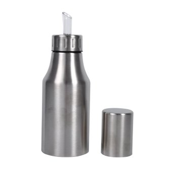 Practical Stainless Steel Oil Pot Dispenser Kitchen Supplies(500ml)- intl