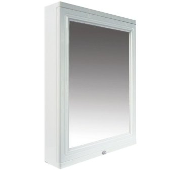 Queen space bathroom cabinet with mirror white - Bathroom cabinets singapore ...