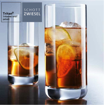 Schott milk juice cold drink cup transparent cup