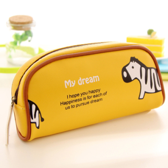 Simple large capacity pencil case stationery box